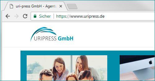 SSL-Zertifikate - uri-press GmbH - Marketing, Webdesign und ...
